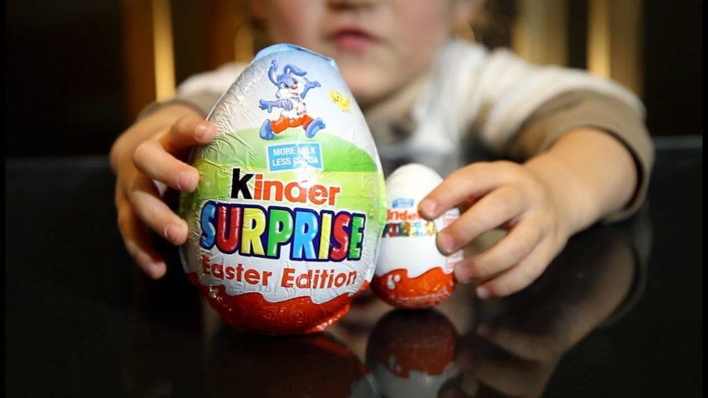 киндер шоколад для детей