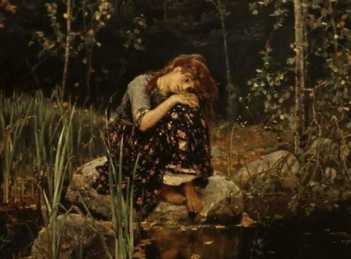 Картина Виктора Васнецова. «Аленушка»,