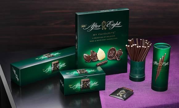 шоколад со вкусом мяты After Eight