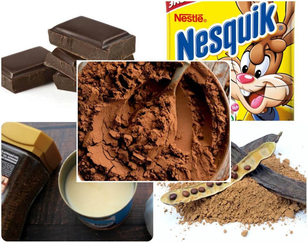 чем заменить какао в рецепте