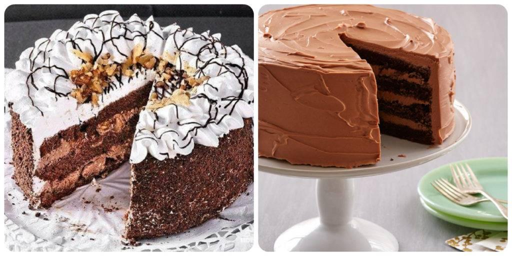 шоколадно-сметанный торт рецепт
