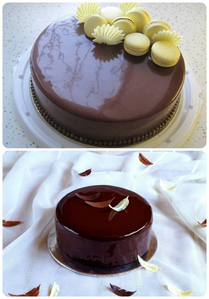 шоколадная зеркальная глазурь рецепт