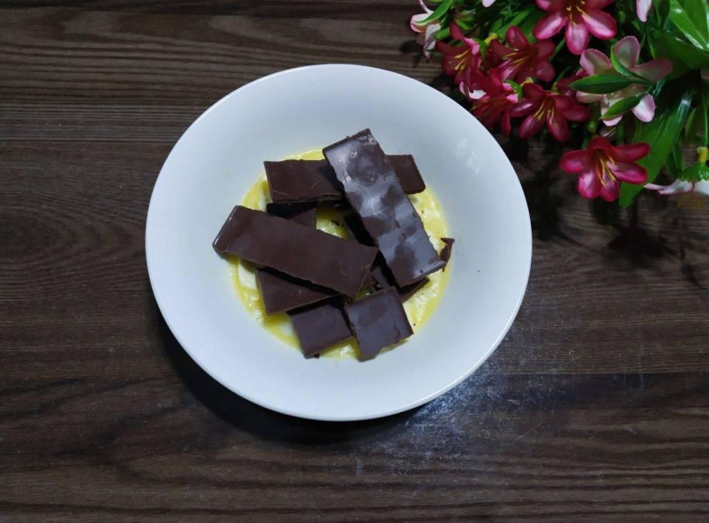 шоколад с маслом растопить