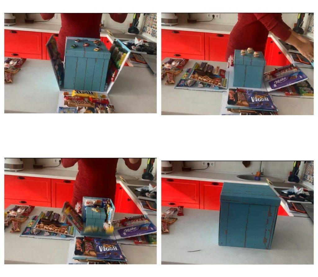 коробка с сюрпризом как сделать
