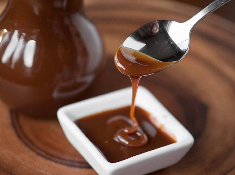 шоколадный соус с карамелью