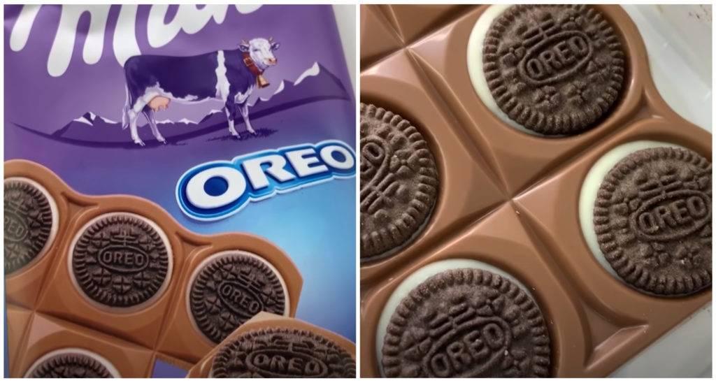 Шоколад Милка Орео