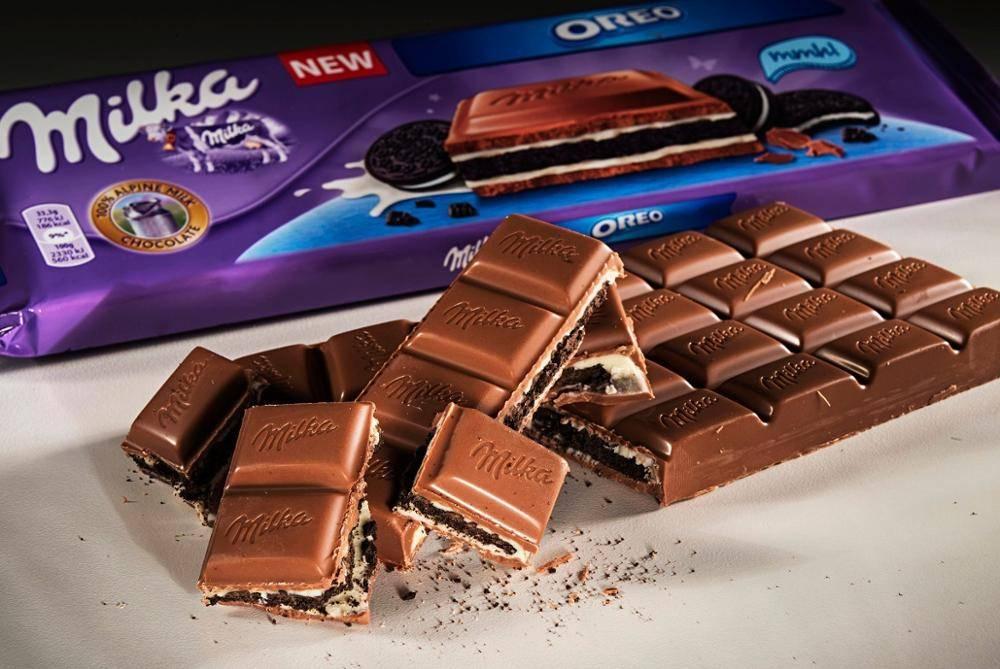 виды шоколада Милка