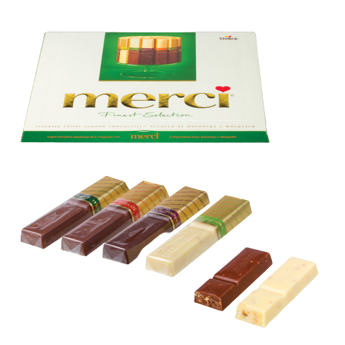 шоколад мерси вкусы