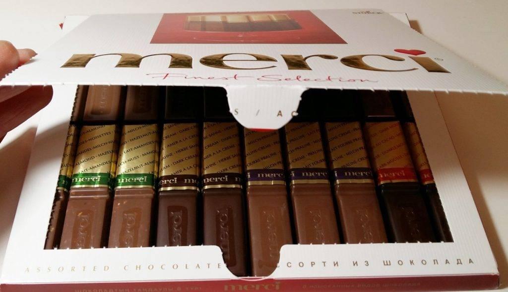 состав шоколада мерси