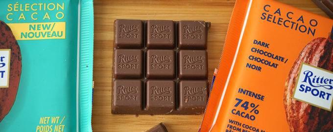 риттер спорт все виды шоколад