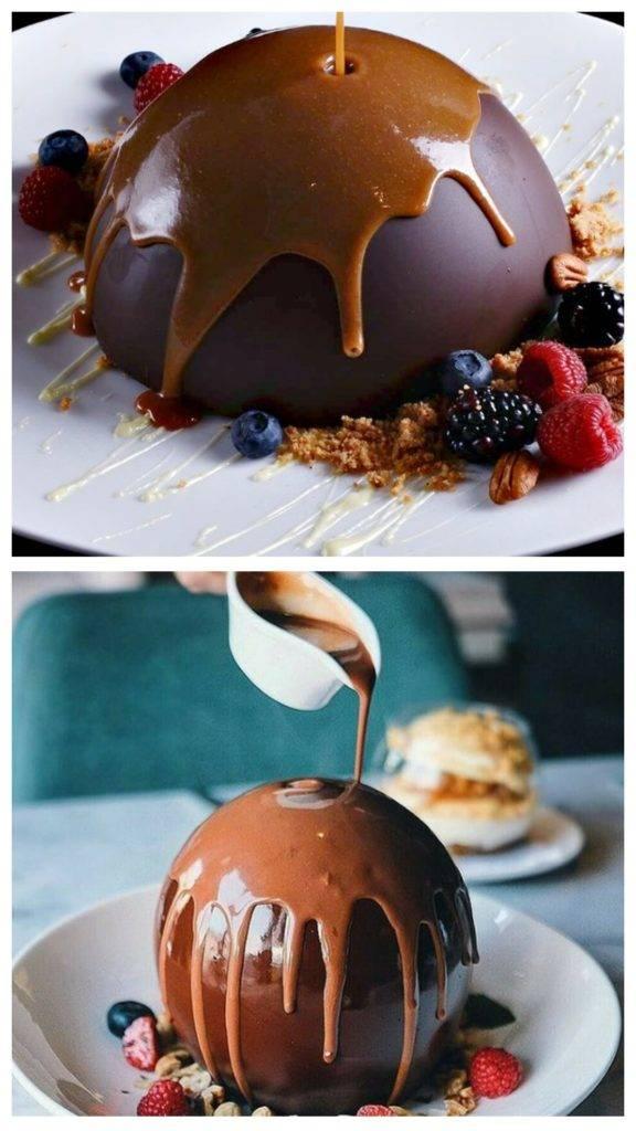 шоколадная бомба рецепт