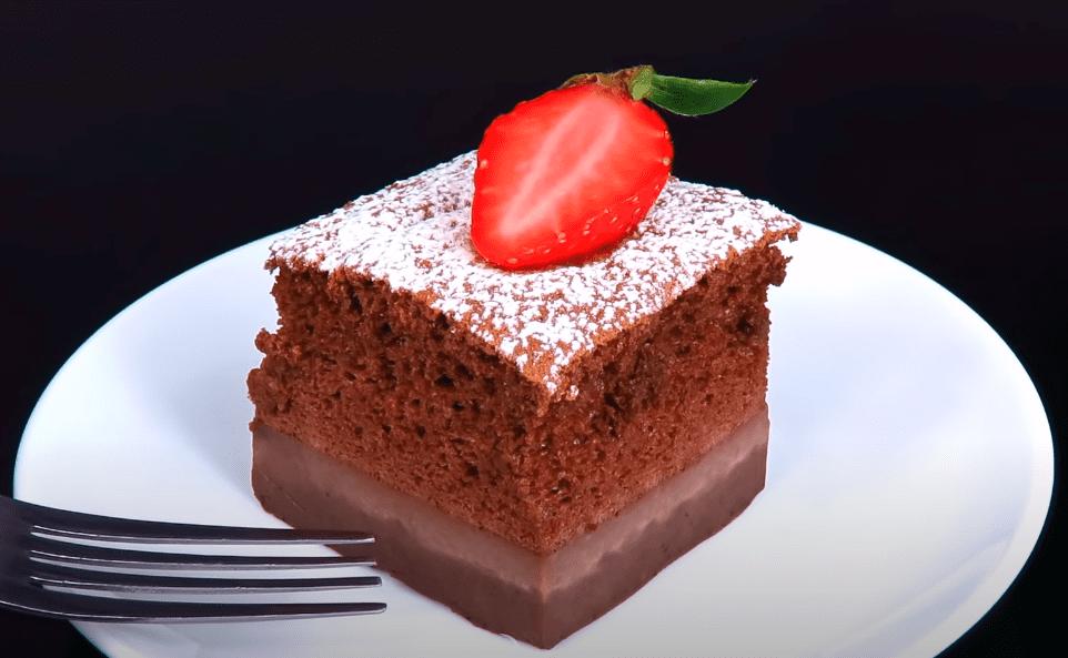 пирожное три слоя рецепт