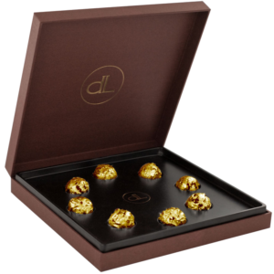 Chocolates with Edible Gold от Delaffe