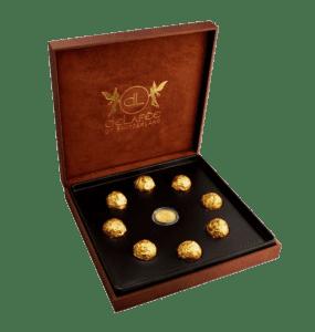 DeLafée of Switzerland's Gold Chocolate Box