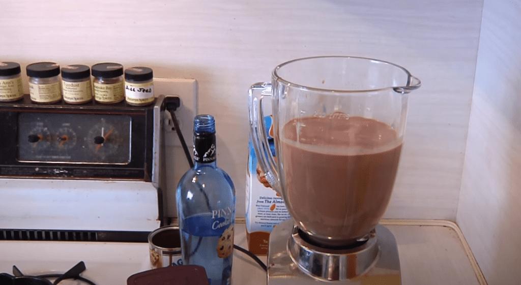ликер с шоколадом и коньяком