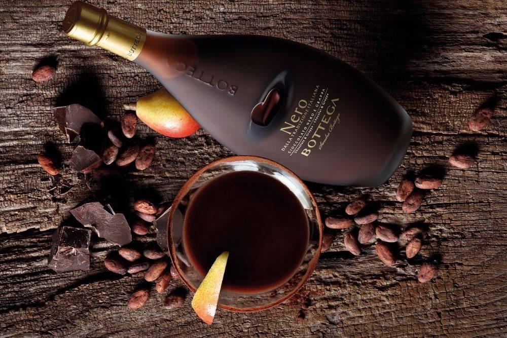 шоколадный ликер с мятой